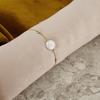 Goldfarbene NOTRE-V Armband ARMBAND GROTE PAREL  - small
