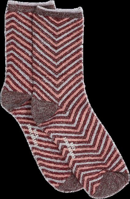 Camelfarbene BECKSONDERGAARD Socken TWISTY DARYA SOCK  - large
