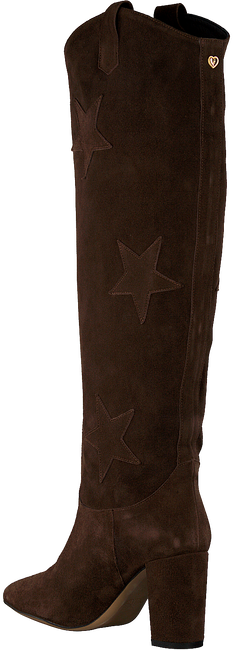 Braune FABIENNE CHAPOT Hohe Stiefel HUGO HIGH STAR BOOT  - large