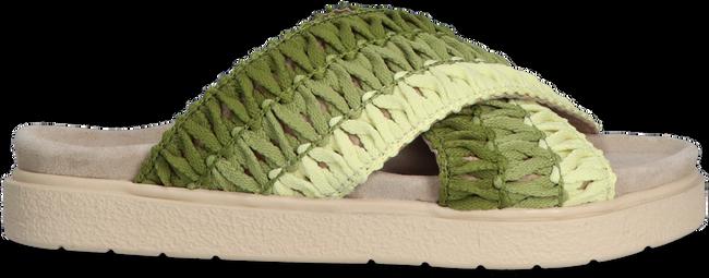 Grüne INUIKII Pantolette KNITTED CROSSED  - large