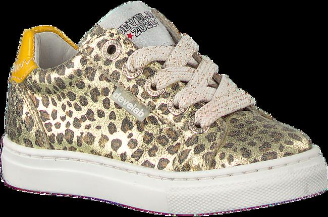 Goldfarbene DEVELAB Sneaker low 41840  - large