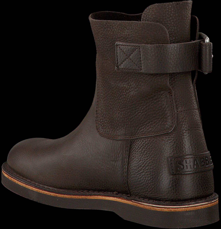 braune shabbies ankle boots 181020020 jetzt im sale. Black Bedroom Furniture Sets. Home Design Ideas