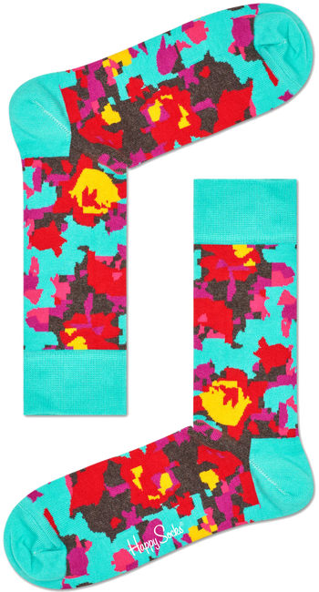 HAPPY SOCKS Socken FLOWER - large