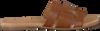 Cognacfarbene OMODA Pantolette 179874  - small