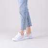 Weiße CALVIN KLEIN Sneaker low RUNNER SNEAKER LACEUP MESH  - small