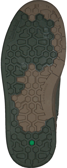 Grüne TIMBERLAND Sneaker high DAVIS SQUARE 6 INCH KIDS  - large