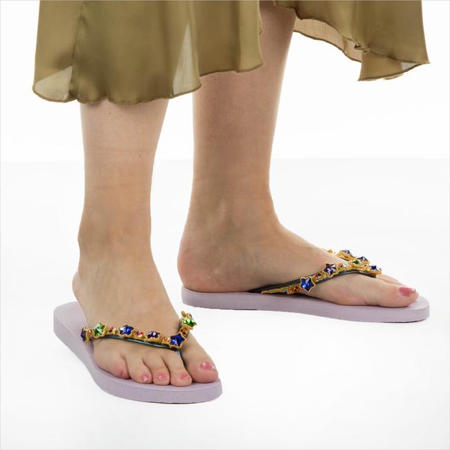 Lilane UZURII Pantolette COLORFUL STAR - large