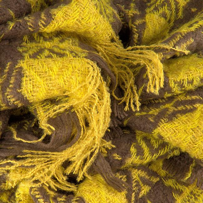 Gelbe NOTRE-V Schal CYNTHA  - large