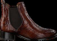Cognacfarbene VERTON Chelsea Boots 567-010  - medium