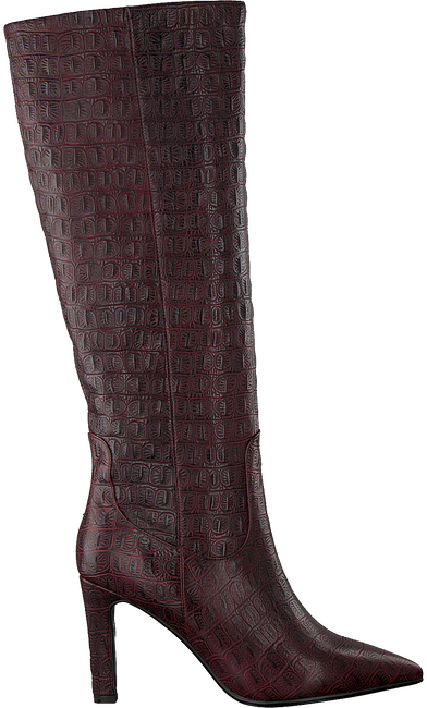 Rote LOLA CRUZ Hohe Stiefel 301B78BK-D-I19  - large