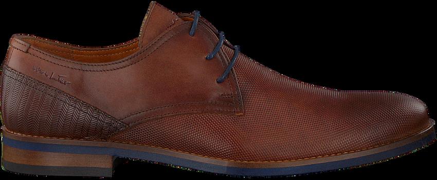 Cognacfarbene VAN LIER Business Schuhe 1915314  - larger