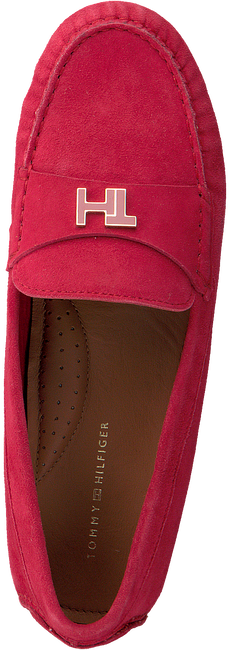 Rote TOMMY HILFIGER Mokassins TH HARDWARE MOCASSIN  - large