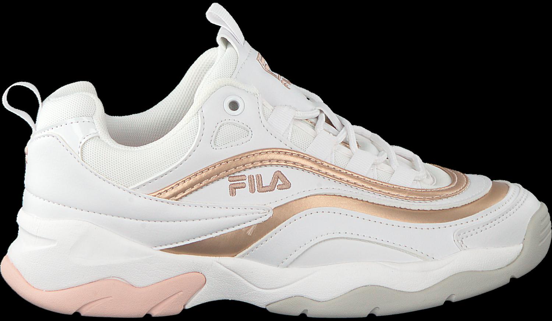 Weiße FILA Sneaker RAY F LOW WMN - Omoda