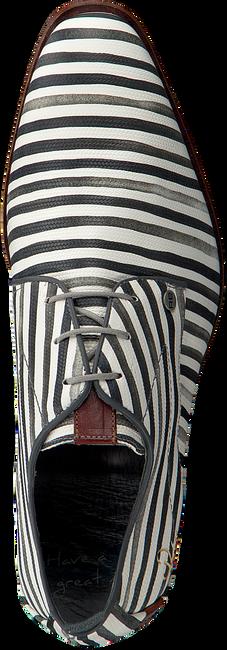Weiße REHAB Business Schuhe GREG STRIPES LIZ - large