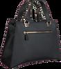 Schwarze GUESS Handtasche DALMA GIRLFRIEND SATCHEL  - small
