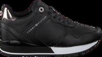 Schwarze TOMMY HILFIGER Sneaker low DRESSY WEDGE  - medium