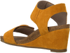 Gelbe CA'SHOTT Sandalen 8029  - small