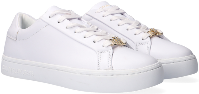 Weiße CALVIN KLEIN Sneaker low CUPSOLE SNEAKER LACEUP  - large