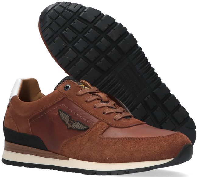Cognacfarbene PME Sneaker low LOCKPLATE  - large