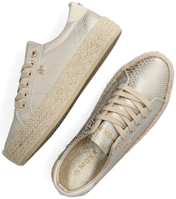 Goldfarbene MEXX Sneaker low CHEVELIJN 05  - large