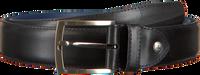 Schwarze FLORIS VAN BOMMEL Gürtel 75217  - medium