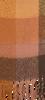 Braune Yehwang Schal COLORED BLOCKS  - small