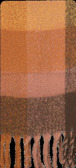 Braune Yehwang Schal COLORED BLOCKS  - large