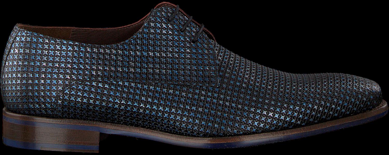 Blaue FLORIS VAN BOMMEL Business Schuhe 14204 Omoda