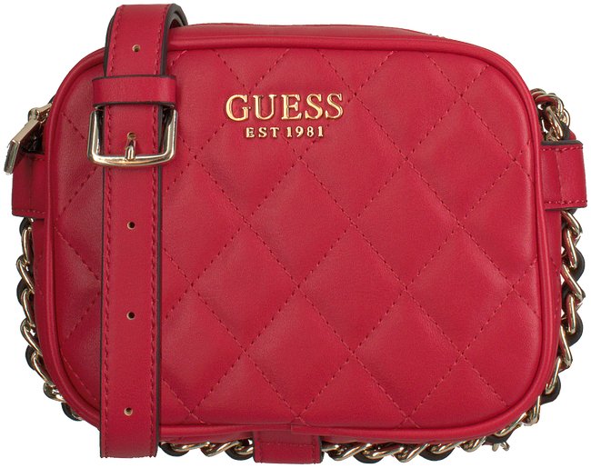 Rote GUESS Handtasche SWEET CANDY MINI XBODY TOP ZIP  - large