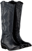 Schwarze CATARINA MARTINS Cowboystiefel NOMAD HIGH EMBROIDERY  - small