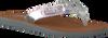 Silberne TOMMY HILFIGER Pantolette GLITTER BEACH SANDAL - small