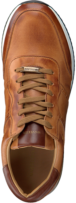 Cognacfarbene MAZZELTOV Sneaker low 20-9928  - large