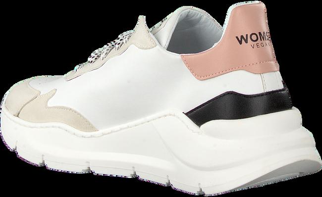 Weiße WOMSH Sneaker low VEGAN  - large