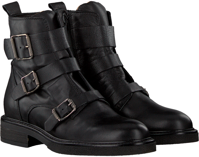 Schwarze VERTON Biker Boots 3233  - large
