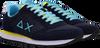 Blaue SUN68 Sneaker low TOM SOLID NYLON MEN  - small