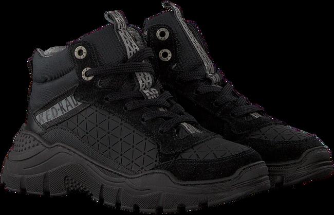 Schwarze RED-RAG Sneaker high 13289  - large