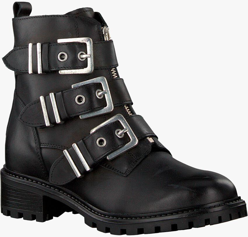Schwarze OMODA Biker Boots R15778 - larger