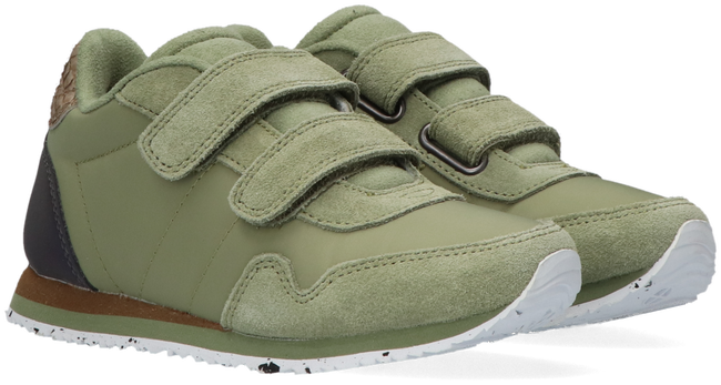 Grüne WODEN Sneaker low NOR SUEDE  - large