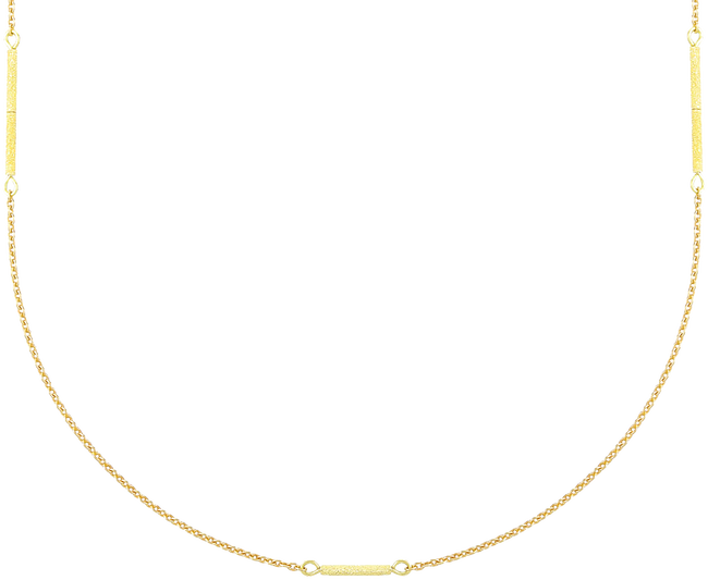 Goldfarbene JEWELLERY BY SOPHIE Kette LONG NECKLACE - large
