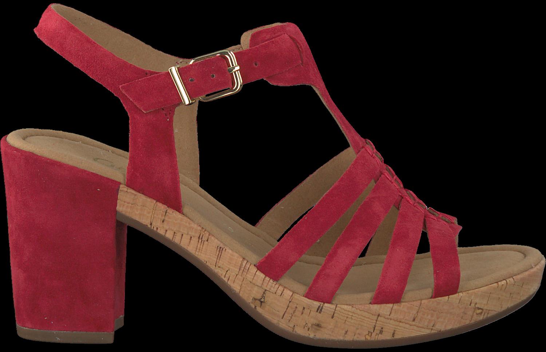 Rote GABOR Sandalen 783 - Jetzt im Sale   Omoda.de 6b85fae7f3