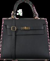 Schwarze NOTRE-V Handtasche BENTE  - medium