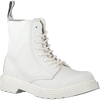 Weiße DR MARTENS Schnürboots 1460 PASCAL MONO K  - small