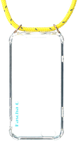 Gelbe KASCHA-C Handy-Schutzhülle PHONECORD IPHONE 7/8  - medium