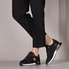 Schwarze MEXX Sneaker low GITTE  - small