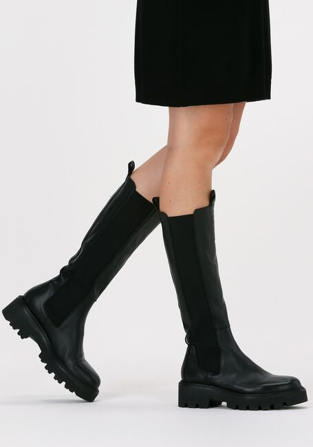 Schwarze NOTRE-V Hohe Stiefel 03-15  - large