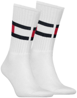 Weiße TOMMY HILFIGER Socken TH FLAG - medium