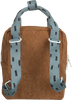 Braune STICKY LEMON Rucksack CORDUROY SMALL  - small