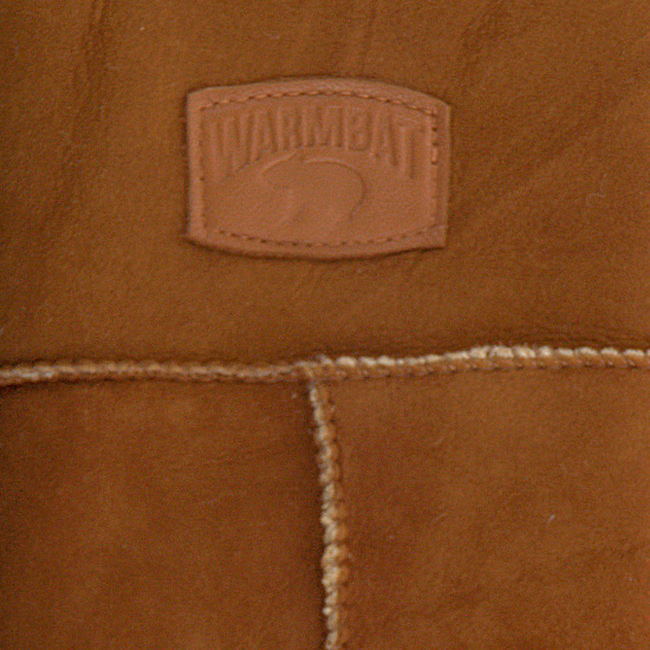 Cognacfarbene WARMBAT Handschuhe MITTENS WOMEN  - large