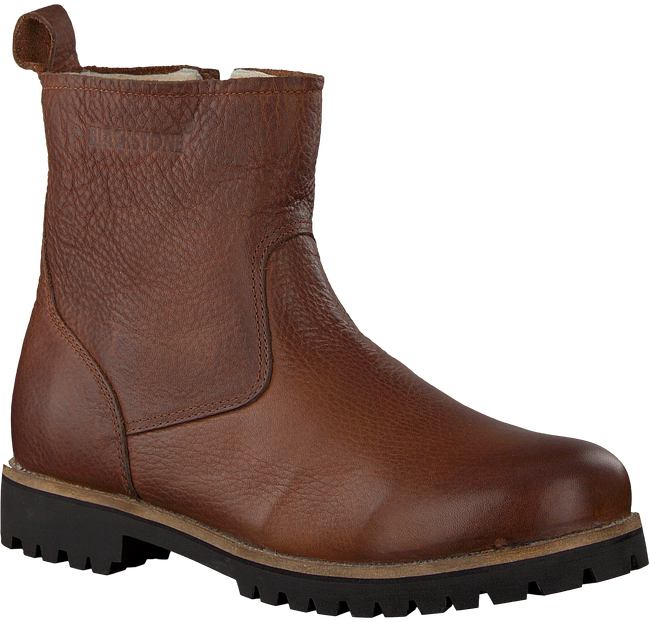 Braune BLACKSTONE Ankle Boots OM63 - large