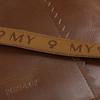 Braune MYOMY Umhängetasche WRAPPED CROSS-BODY  - small